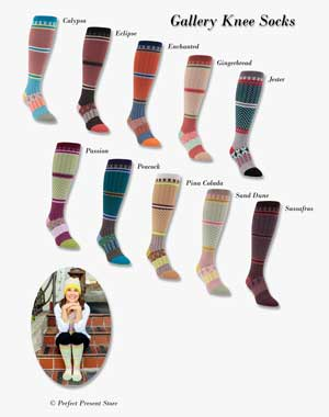 World's Softest Gallery Knee Socks
